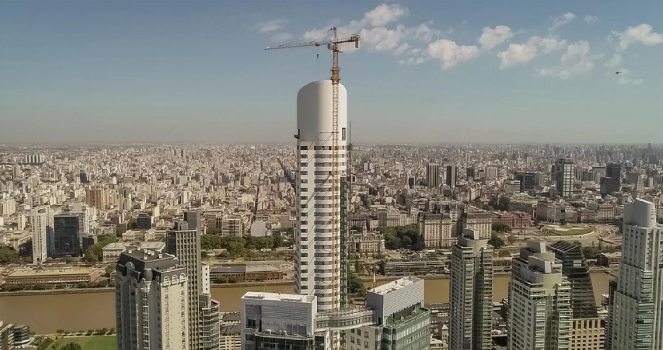 Mira como es el edificio mas alto de Argentina