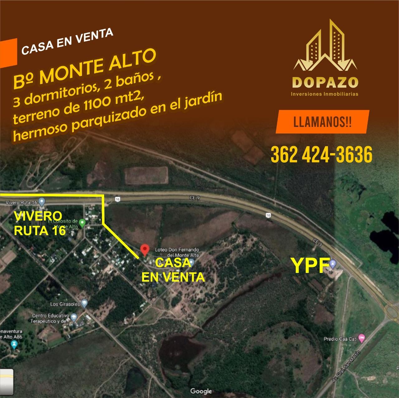 Casa en B� Monte Alto