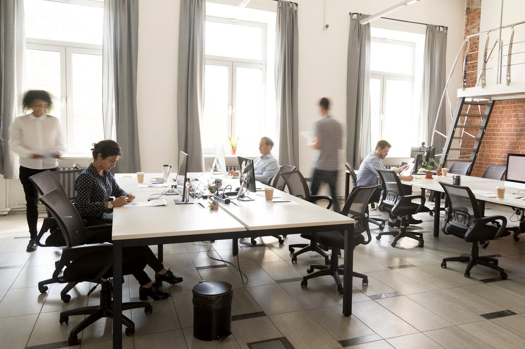 Pros y contras de los espacios abiertos de trabajo